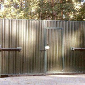Распашные ворота, калитки
